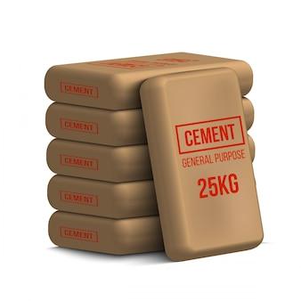 Worki cementowe