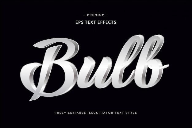 Wow efekt stylu linii tekstu