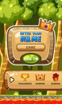 Wpisz swój szablon imienia w grze mobilnej