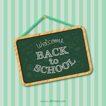 Wróć do szkoły lub zielonej projektowania