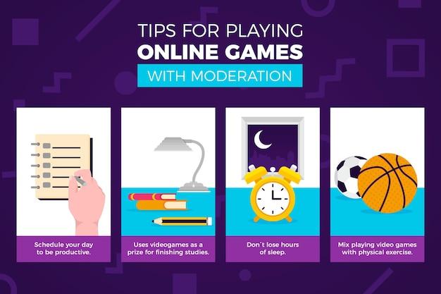Wskazówki dotyczące grania w gry online z umiarem