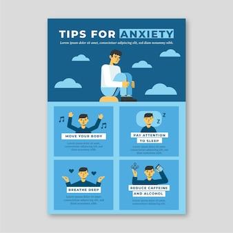 Wskazówki dotyczące infografiki lękowej