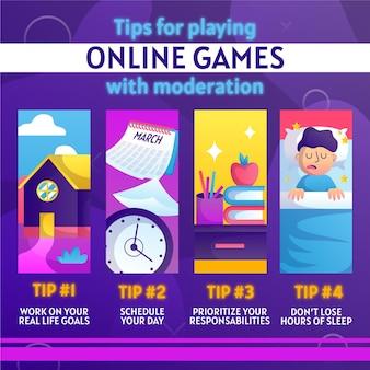 Wskazówki dotyczące spędzania czasu na graniu w gry wideo