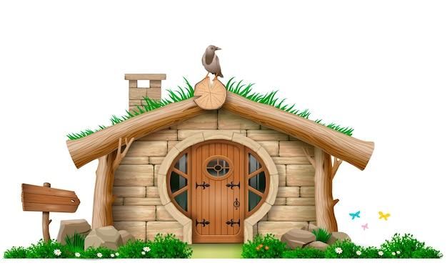 Wspaniała leśna chata