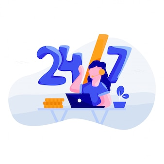 Wsparcie 24/7 - koncepcja bankowości internetowej