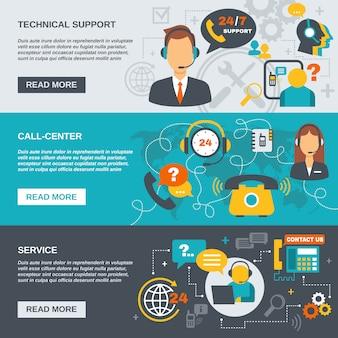 Wsparcie banner call center