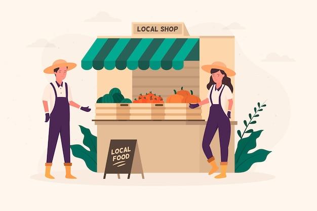 Wspierać koncepcję lokalnych rolników