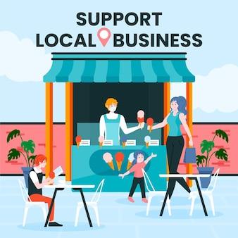 Wspieraj koncepcję lokalnego biznesu