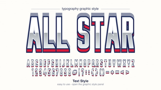 Współczesna typografia sportowa
