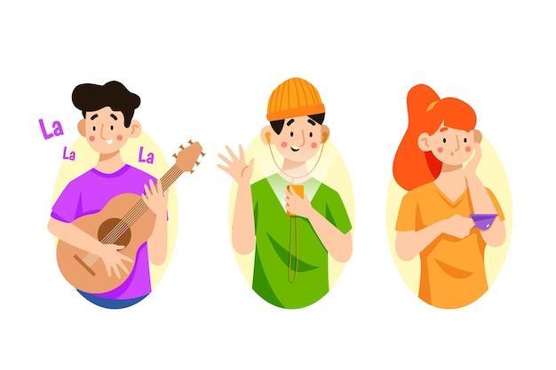 Współcześni ludzie prowadzący działalność kulturalną