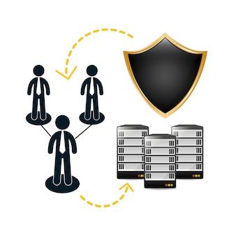 Współdzielone zarchiwizowane centrum danych z folderami