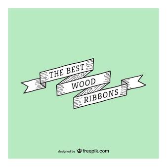 Wstążka drewno najlepiej