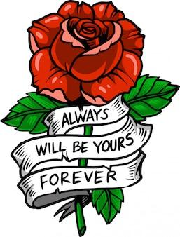 Wstążka rose