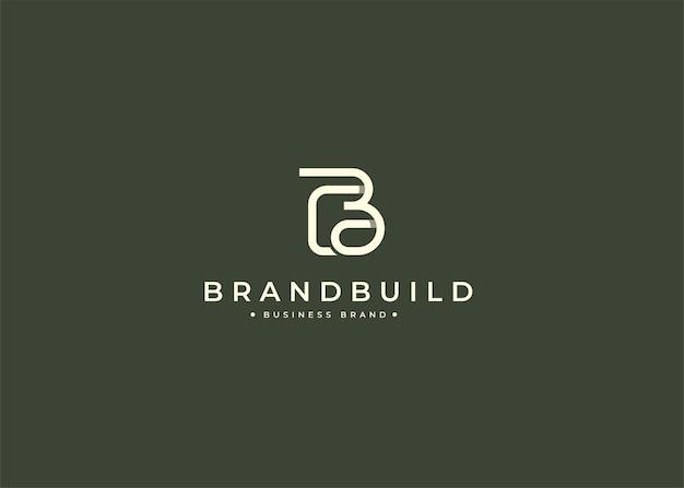 Wstępny minimalistyczny szablon projektu logo b