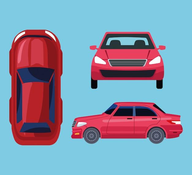 Wszystkie widoki samochodu