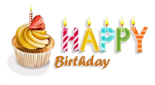 Wszystkiego najlepszego z okazji urodzin cupcakes card