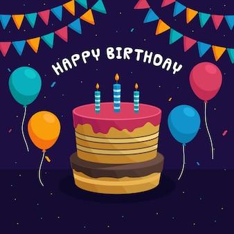Wszystkiego najlepszego z okazji urodzin tapety w tle