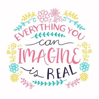 Wszystko, co sobie wyobrażasz, może być prawdziwym cytatem
