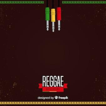 Wtyczki reggae w tle