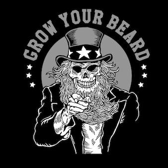 Wujek sam chce, żebyś zapuścił brodę