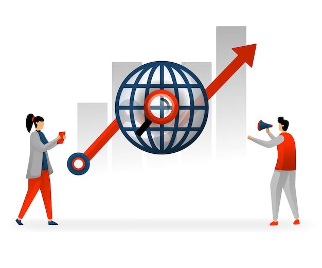 Wybierz słowa kluczowe i seo na podstawie trendów na świecie
