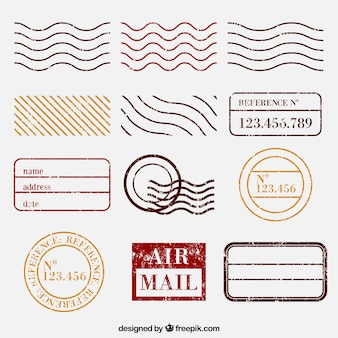 Wybór znaczków pocztowych