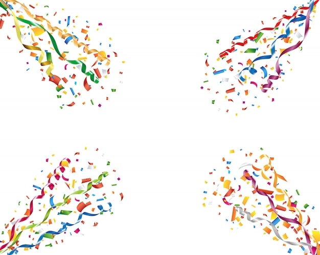 Wybuchające konfetti i serpentyny