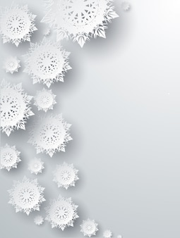 Wyciąć tło płatki śniegu