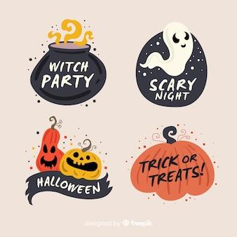 Wyciągnąć rękę odznaka kolekcja halloween