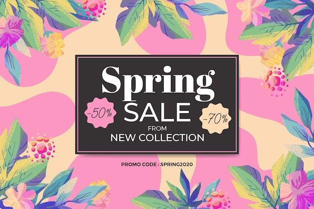Wyciągnąć rękę sprzedaży wiosennej