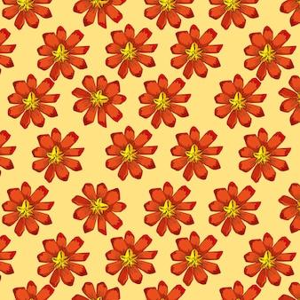 Wyciągnąć rękę wzór kwiaty.