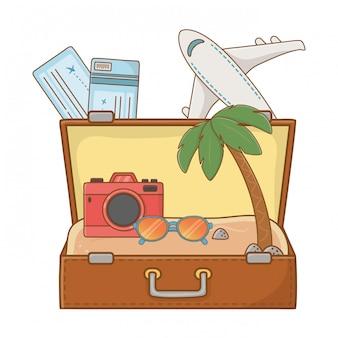 Wycieczka turystyczna letnia podróż