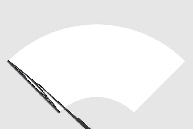 Wycieraczka kontrolna przedniej szyby