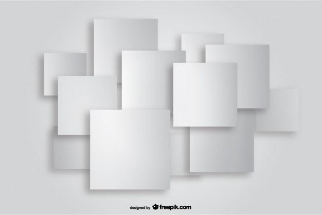 Wycinanka papieru tle kwadratowych