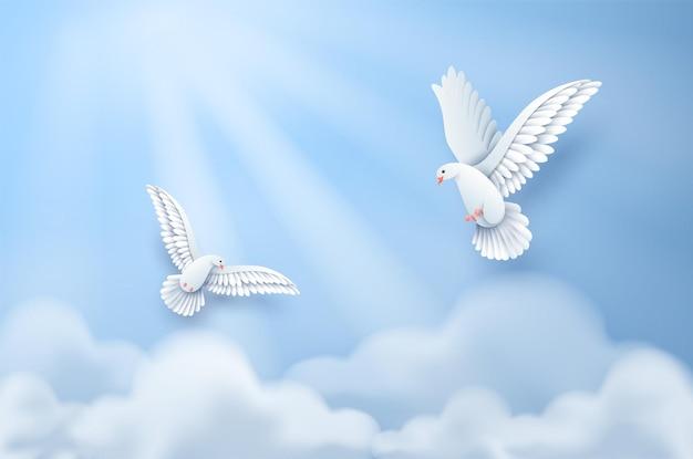 Wycinanka z międzynarodowego dnia pokoju.
