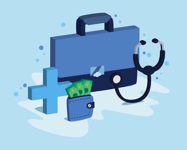 Wydatki na ubezpieczenie medyczne lub koszty opieki zdrowotnej