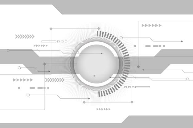 Wygaszacz ekranu białej technologii