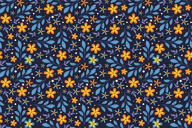 Wygaszacz ekranu w kwiatowy wzór ditsy