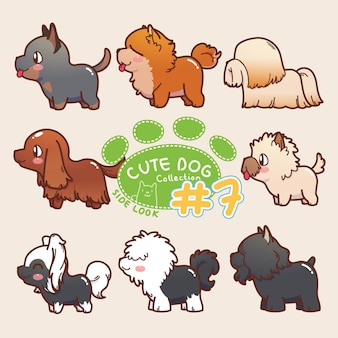 Wygląd boczny cute dog collection 7
