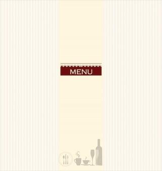 Wygląd menu restauracji