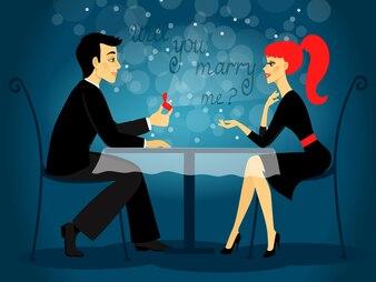 Wyjdziesz za mnie, propozycja małżeństwa