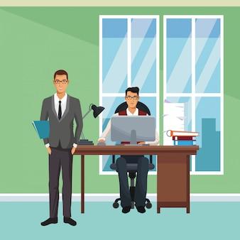 Wykonawczy współpracownicy biznesowi