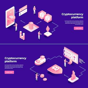 Wymiana kryptowaluty i skład izometryczny blockchain