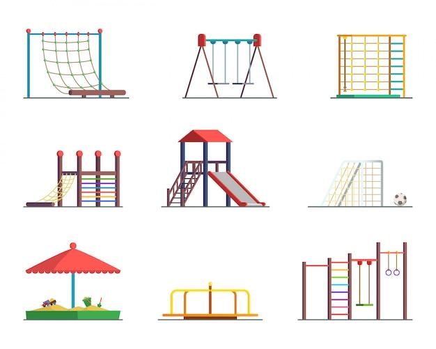 Wyposażenie parku rozrywki