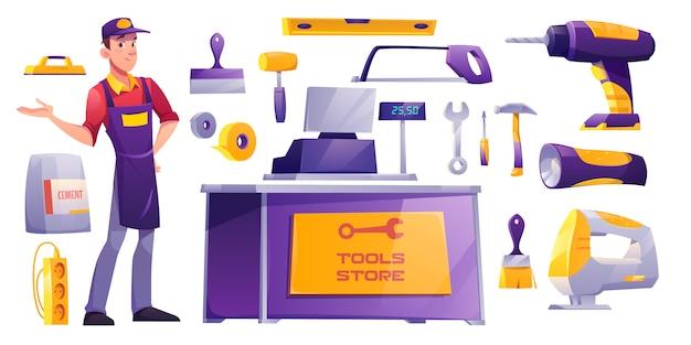 Wyposażenie sklepów z budową sprzętu