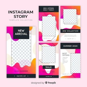 Wyprzedaż kolekcji szablonów opowieści instagram