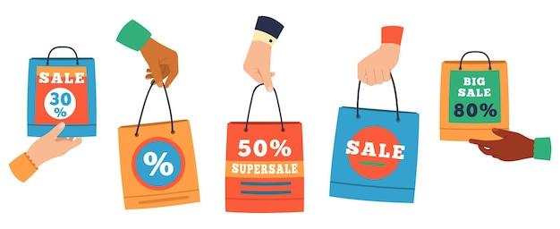 Wyprzedaż toreb na zakupy