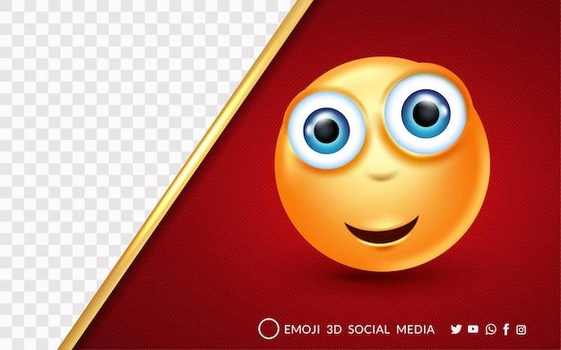 Wyrażenia emoji zdziwiony