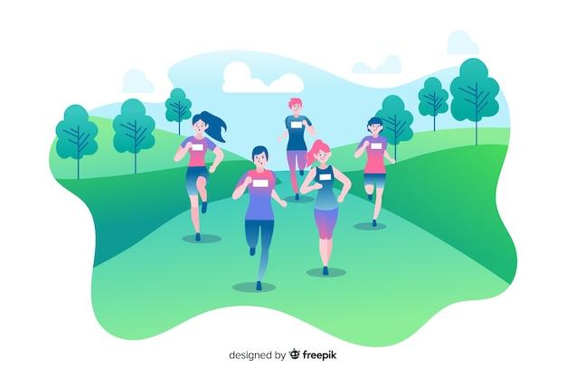 Wyścig maratoński