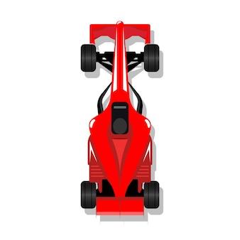 Wyścigowy samochód sportowy f1 bolid wyścigowy